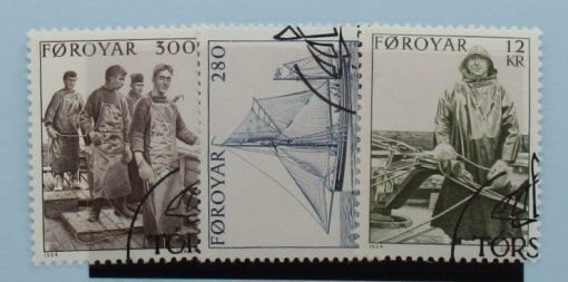 Faroe Islands Stamps, 1984, SG100-102, Used 3