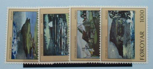 Faroe Islands Stamps, 1990, SG200-203, Mint 3
