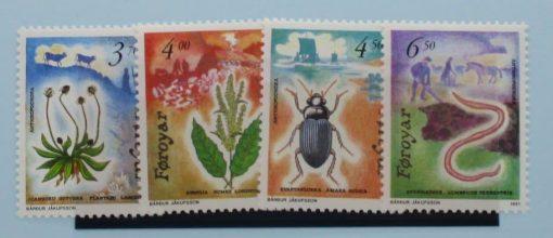 Faroe Islands Stamps, 1991, SG204-207, Mint 3