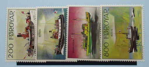 Faroe Islands Stamps, 1992, SG220-223, Mint 3