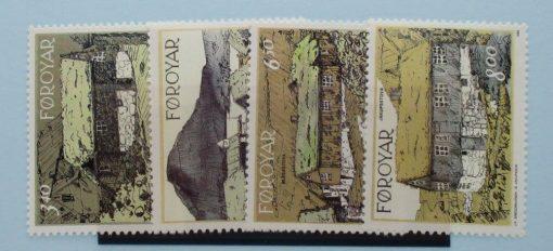Faroe Islands Stamps, 1992, SG231-234, Mint 3