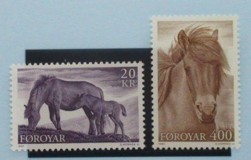 Faroe Islands Stamps, 1993, SG243-244, Mint 3