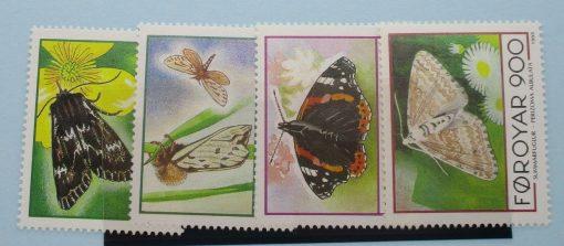 Faroe Islands Stamps, 1993, SG245-248, Mint 3