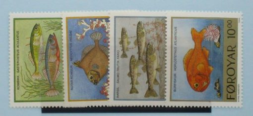 Faroe Islands Stamps, 1993, SG249-252, Mint 3