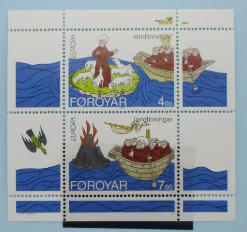 Faroe Islands Stamps, 1993, MS255, Mint 3