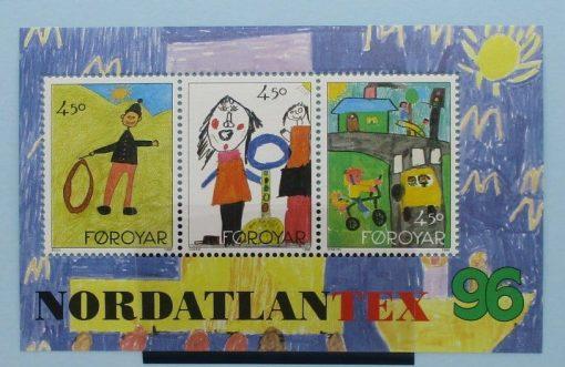 Faroe Islands Stamps, 1996, MS314, Mint 3