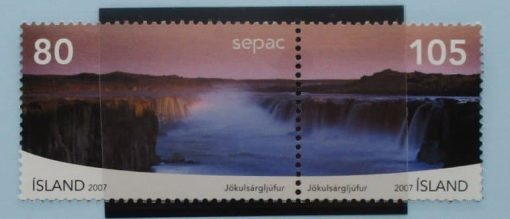 Iceland Stamps, 2007, SG1186-1187, Mint 3