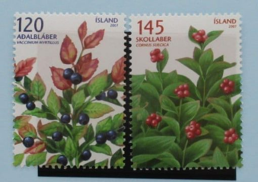 Iceland Stamps, 2007, SG1183-1184, Mint 3