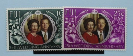 Fiji Stamps, 1972, SG474-475, Mint 3