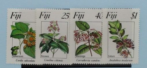 Fiji Stamps, 1983, SG665-668, Mint 3