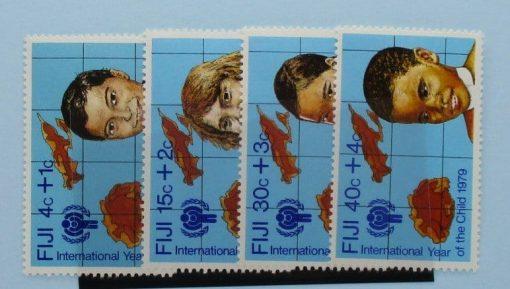 Fiji Stamps, 1979, SG576-579, Mint 3