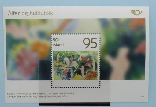 Iceland Stamps, 2006, MS1137, Mint 3