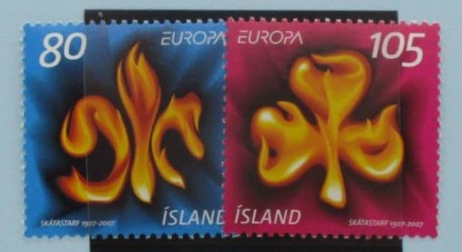 Iceland Stamps, 2007, SG1178-1179, Mint 3