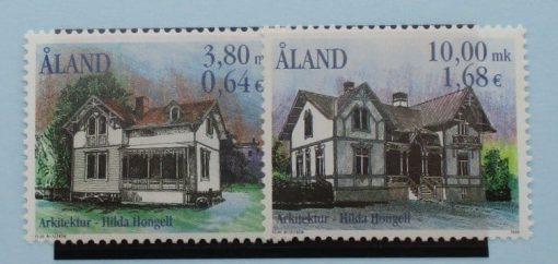 Aland Islands Stamps, 2000, SG180-181, Mint 3