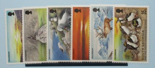 South Georgia and South Sandwich Islands Stamps, 1999, SG306-311, Mint 3