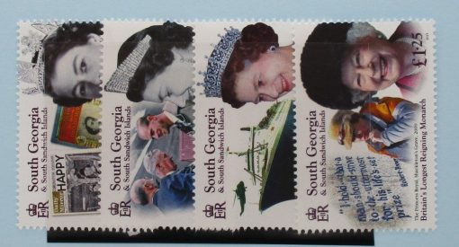 South Georgia and South Sandwich Islands Stamps, 2015, SG652-655, Mint 3