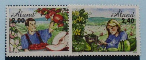 Aland Islands Stamps, 1998, SG130-131, Mint 3