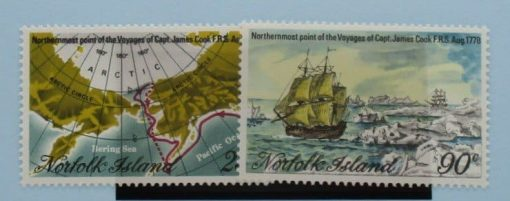 Norfolk Islands Stamps, 1978, SG213-214, Mint 5