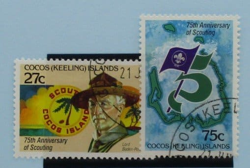 Cocos (Keeling) Islands Stamps, 1982, SG82-83, Used 3