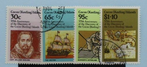 Cocos (Keeling) Islands Stamps, 1984, SG115-118, Used 3
