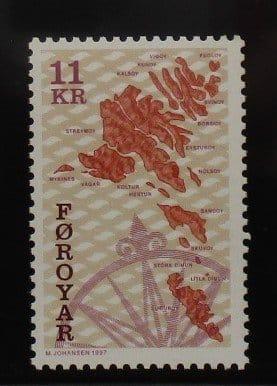 Faroe Islands Stamps, 1996-2000, SG302, Mint 3
