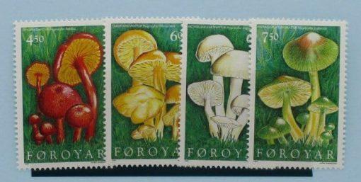 Faroe Islands Stamps, 1997, SG323-326, Mint 3