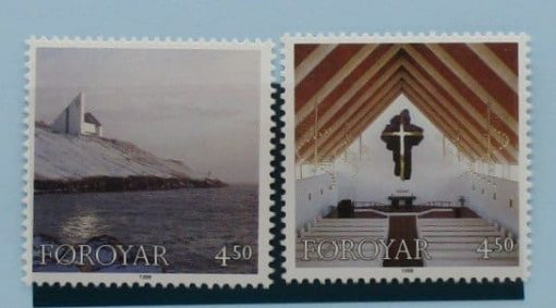 Faroe Islands Stamps, 1998, SG349-350, Mint 3