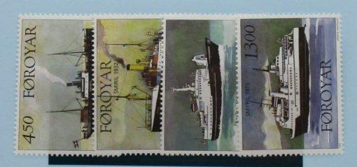 Faroe Islands Stamps, 1999, SG357-360, Mint 3
