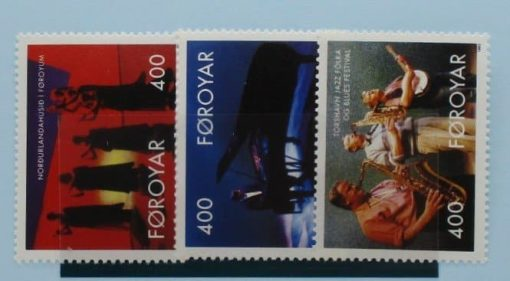 Faroe Islands Stamps, 1993, SG235-237, Mint 3