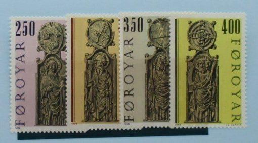 Faroe Islands Stamps, 1984, SG90-93, Mint 3