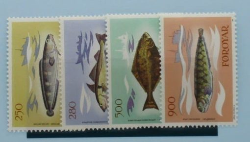 Faroe Islands Stamps, 1983, SG85-88, Mint 3