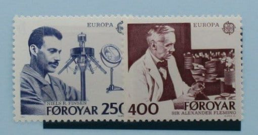 Faroe Islands Stamps, 1983, SG83-84, Mint 3