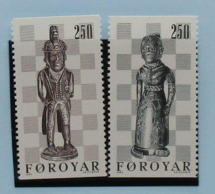 Faroe Islands Stamps, 1983, SG81-82, Mint 3