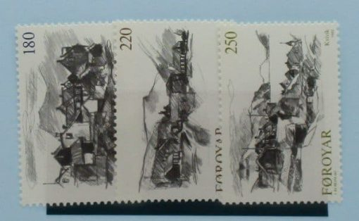 Faroe Islands Stamps, 1982, SG71-72, Mint 3
