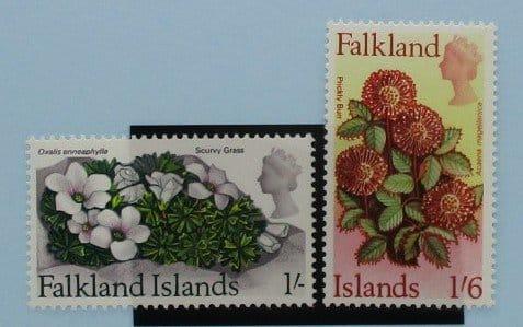 Falkland Islands Stamps, 1968, SG240-241, Mint 3