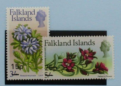 Falkland Islands Stamps, 1971, SG274-275, Mint 3