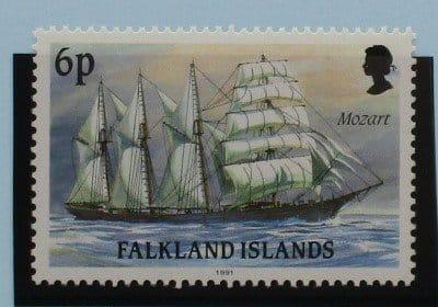 Falkland Islands Stamps, 1991, SG617, Mint 3