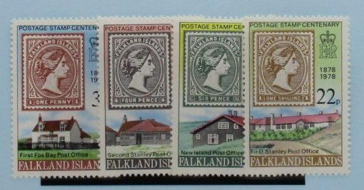 Falkland Islands Stamps, 1978, SG351-354, Mint 3