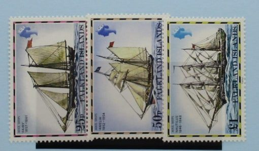 Falkland Islands Stamps, 1982, SG342B-344B, Mint 3