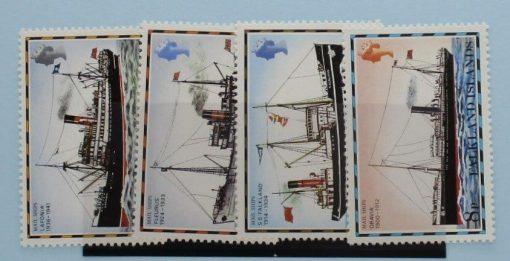 Falkland Islands Stamps, 1978-82, SG335A-338A, Mint 3