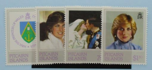 Pitcairn Islands Stamps, 1982, SG226-229, Mint 3