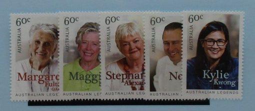Australia Stamps, 2014, SG4112-4116, Mint 3