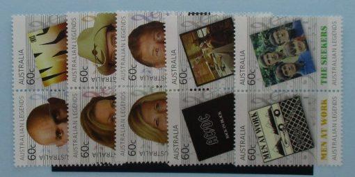 Australia Stamps, 2013, SG3897a, 3899a, 3901a, 3903a, 3905a, Mint 3
