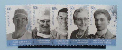 Australia Stamps, 2012, SG3760-3764, Mint 3