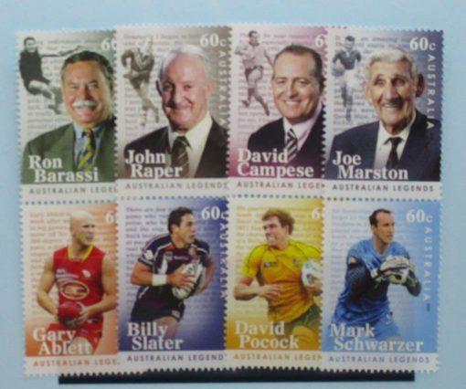 Australia Stamps, 2012, SG3697a, 3699a, 3701a, 3703a, Mint 3