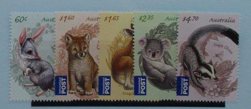 Australia Stamps, 2011, SG3608-3612, Mint 3