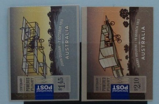 Australia Stamps, 2010, SG3358-3359, Mint 3