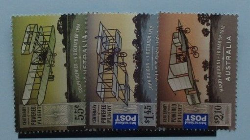 Australia Stamps, 2010, SG3355-3357, Mint 3