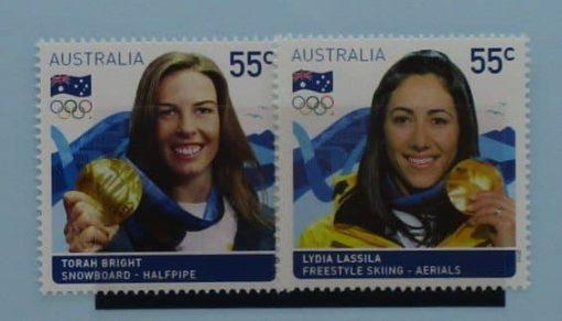Australia Stamps, 2010, SG3353-3354, Mint 3