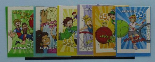 Australia Stamps, 2009, SG3292-3297, Mint 3